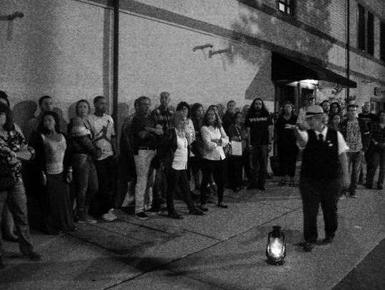 Ghost tours offered by Paranormal Books in Asbury Park.