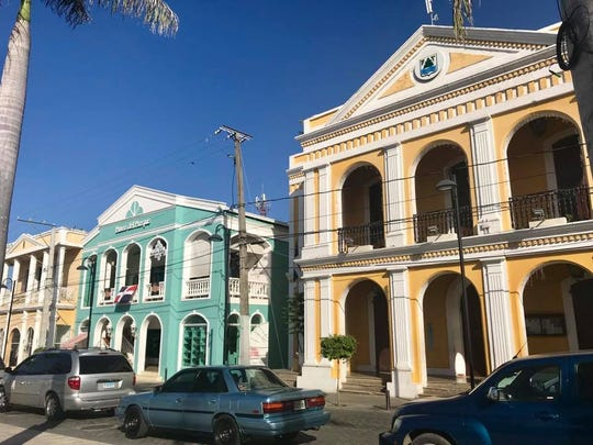 Downtown Puerto Plata.