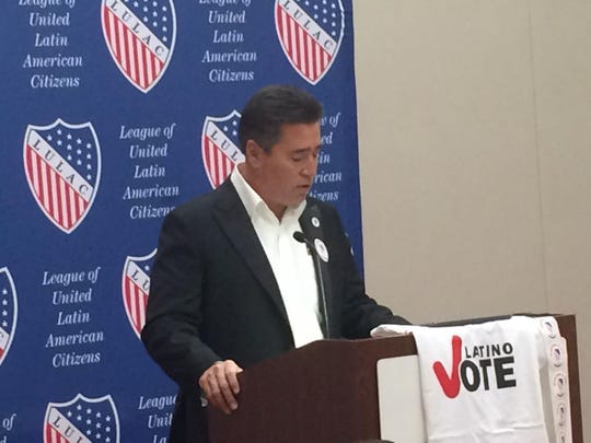 Joe Enriquez Henry, state director of LULAC of Iowa.
