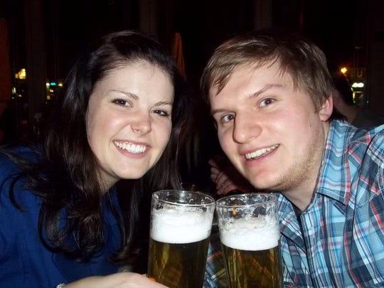 Kelsey McDaniels and Maik Korolczuk