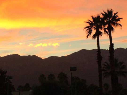 Sunset on Nov. 11, 2014