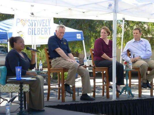 Oct 4 Gilbert School Board forum