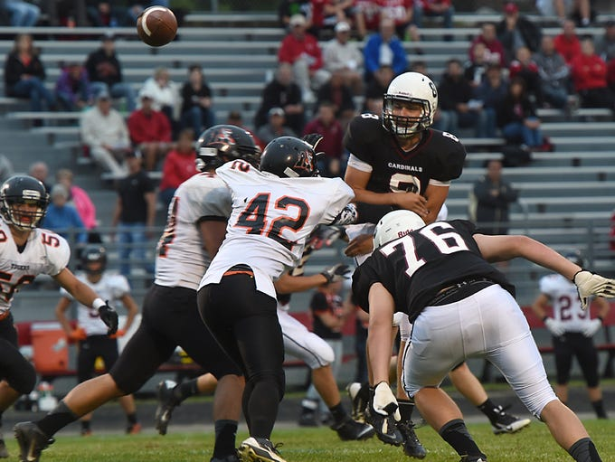 Fond du Lac hosts Marshfield in a Valley Football Association South game Friday at Fruth Field.