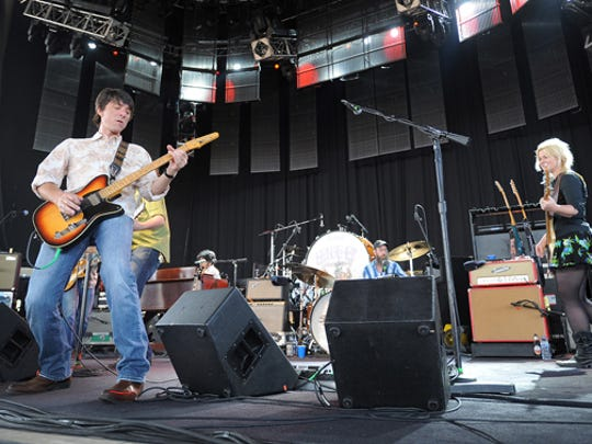 The  Drive-By Truckers opened for Tom Petty & The Heartbreakers at Klipsch Music Center in 2010.