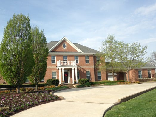 """Thishome, listed at $1.2 million, is  owned by Mark and Pam Storen.  Professionally, he goes by Mark Patrick and has hosted sports radio shows and """"Hoosier  Millionaire."""""""