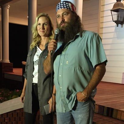 """Duck Dynasty"" stars Korie and Willie Robertson speak"