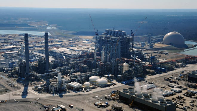 Mississippi Power's Kemper County power plant is now creating electricity from gasified lignite coal.