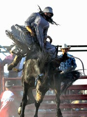 The Cacade Pro Rodeo features a wild bronc riding,