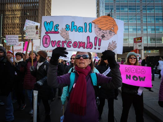 news front range denver thousands gather womens march