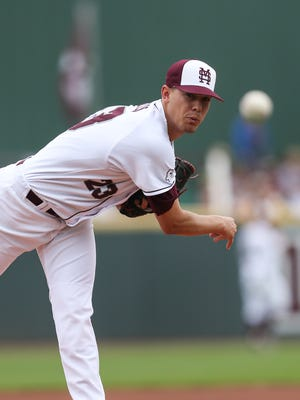 Mississippi State pitcher Austin Sexton hopes to rebound on the mound after struggling in his last two outings.