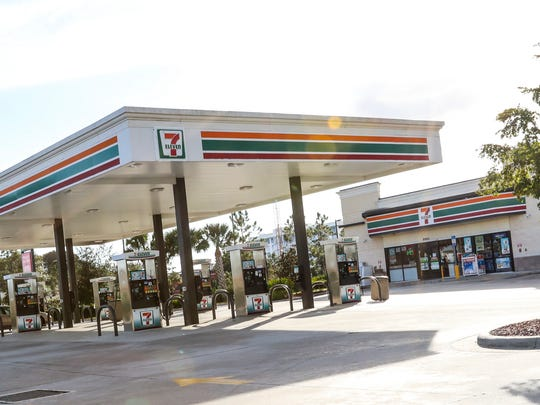 The 7-Eleven across the street from Gulf Coast Town