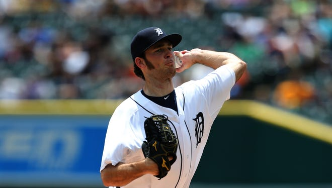 Tigers pitcher Kyle Ryan