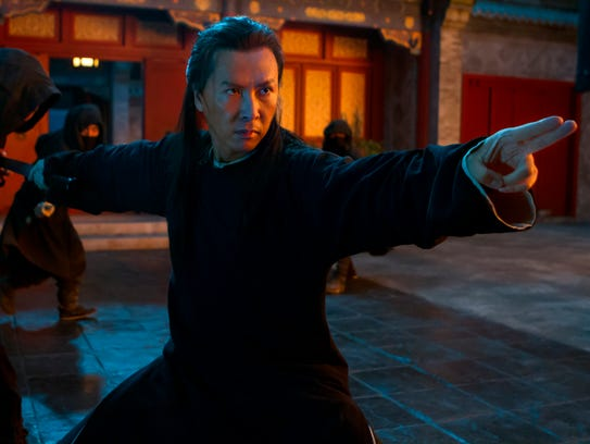 Donnie Yen stars as Silent Wolf in the martial-arts
