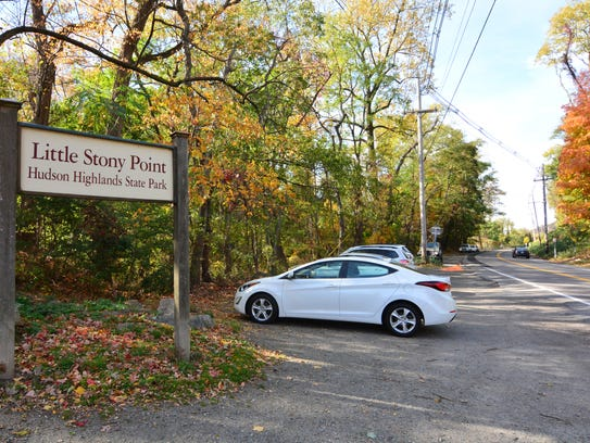 Parking is available on both sides of the street at