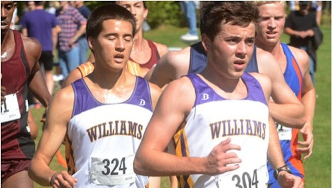 2011 Summit Country Day School graduate and Williams College standout Colin Cotton, right, continued his successful career by winning several events during his senior season and capped it with a second-place finish in the NCAA Division III Championship race Nov. 22 at Kings Island Golf Center in Mason.