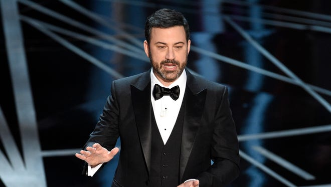 Follow-up heart surgery for  the infant son of Jimmy Kimmel, at the Oscars in February, was postponed because of family colds.
