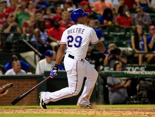 USP MLB: HOUSTON ASTROS AT TEXAS RANGERS S BBA USA TX