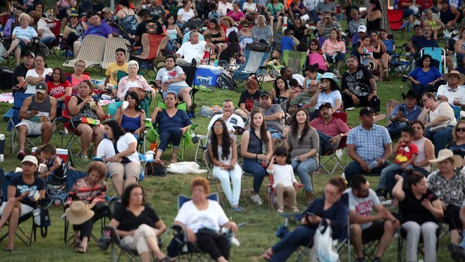 Fans settled in for a Music Under the Stars concert recently at the Chamizal National Memorial. The park will share the free music series with Cohen Stadium during its 2016 season.