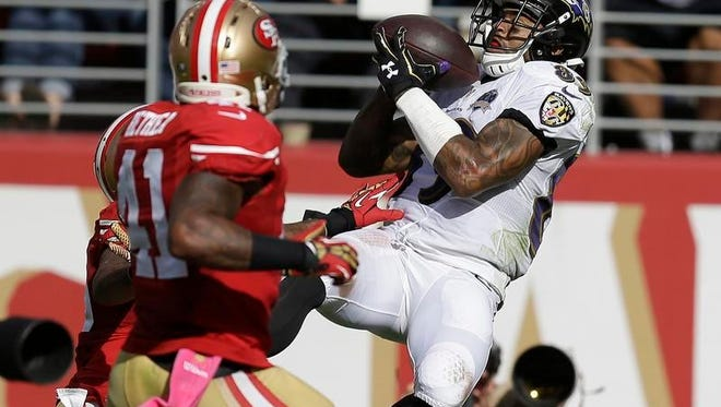 Ravens wide receiver Steve Smith (89) intended to retire at the end of the 2015 season, but ultimately decided to come back for one more season and could be playing his final game Sunday.