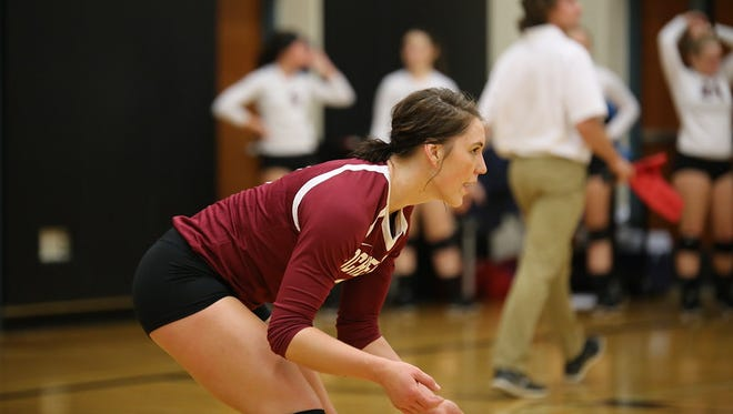Stephanie Oliver, Brighton's new volleyball coach, was an All-America libero for Rochester College last fall.