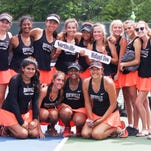 Mustangs gain piece of girls state tennis title with Dow