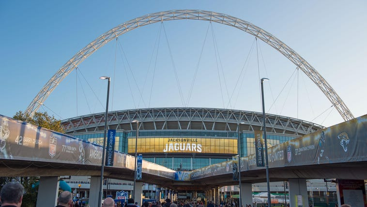 Nov 9, 2014; London, ENG; A general view of the Wembley