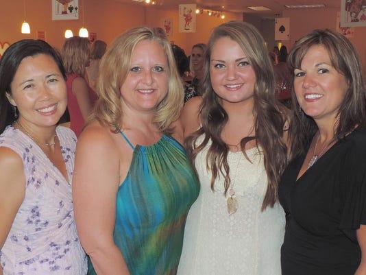 Terri Humphrey, Kerry Shields, Riley Salmon & Christine Schifferl