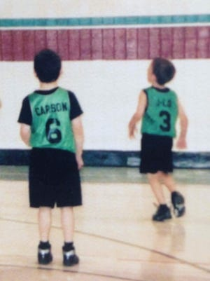 Jaylon Naron and Carson Brown have shared the basketball court since very young.