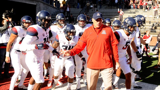 Rich Rodriguez's recruiting class is taking shape.