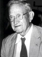 Image of E.E. Smith, science fiction writer, father of space opera, native of Glenbeulah, and food scientist (Public Domain)