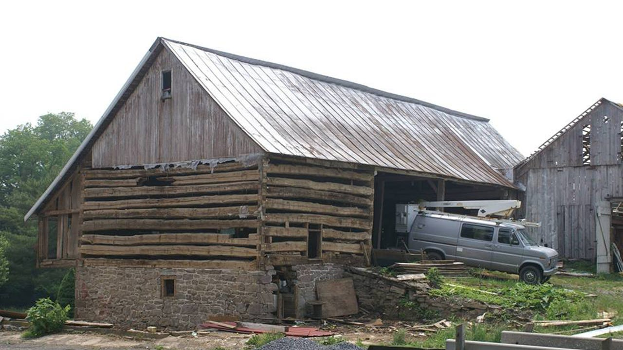 The 1796 Krall Barn, moved from Schaefferstown to Lebanon was disassembled and will be reconstructed on a brand new foundation at Union Canal Tunnel Park. The project is expected to be walled and roofed by the end of 2017.