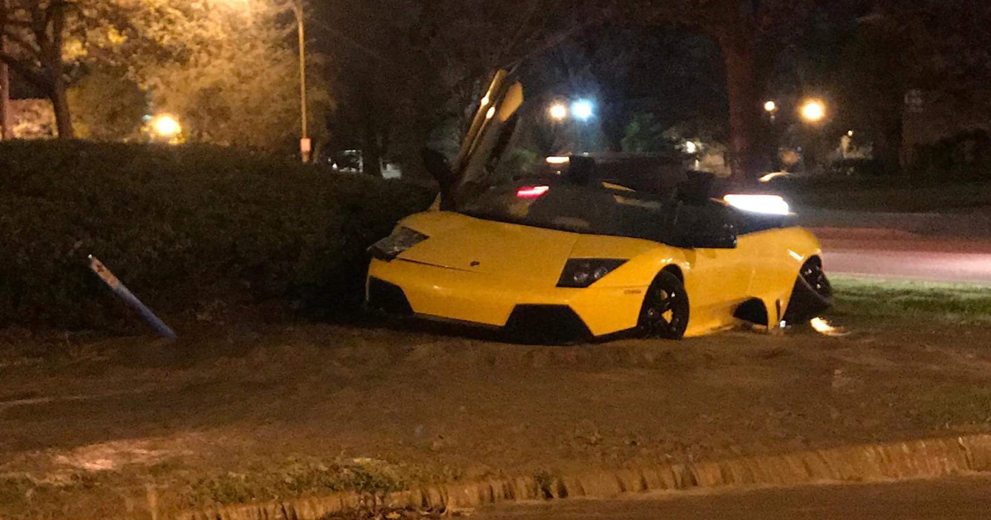 Police Looking For Lamborghini Driver Involved In Hit And Run