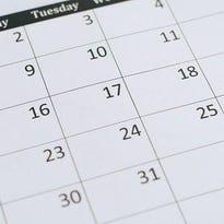 Kewaunee County calendar of events, Jan. 20-Feb. 10