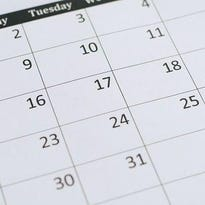 Kewaunee County calendar of events, April 27-May 26