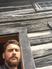 "From James Franco's Instagram account: Back in the Holler, directing ""The Long Home"""