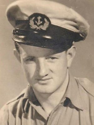 Daniel Rice in his military uniform in 1945, three years before he died in a mysterious plane crash.
