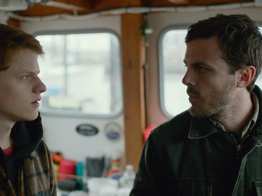 "Lucas Hedges and Casey Affleck in ""Manchester By The Sea."""