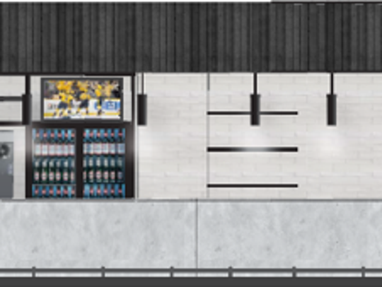 A frozen drink bar planned for the 300-level of Bridgestone