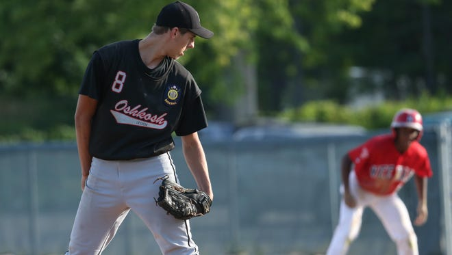 Oshkosh Legion's Will Clark returns this season and will be relied upon as one of the team's starting pitchers.