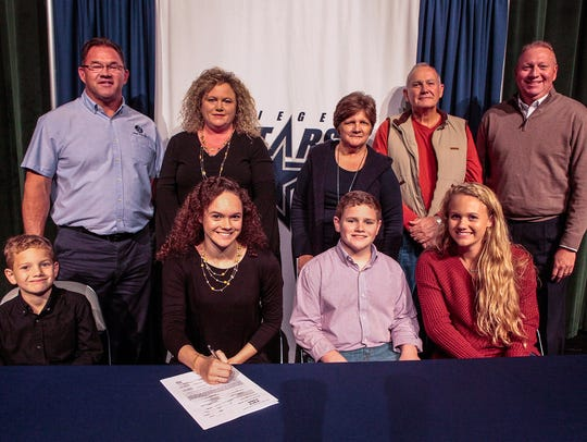 Seigel senior Hannah McCrary signed a gymnastics scholarship