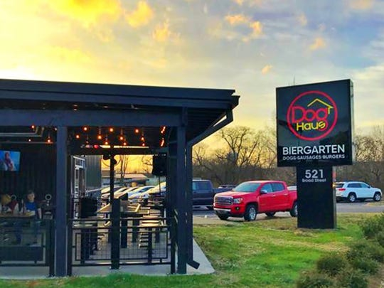 Dog Haus Biergarten is located at 521 N.W. Broad St. in Murfreesboro.