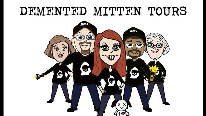 The Demented Mitten tours take people around to different places that are rumored to be haunted, including Lansing.