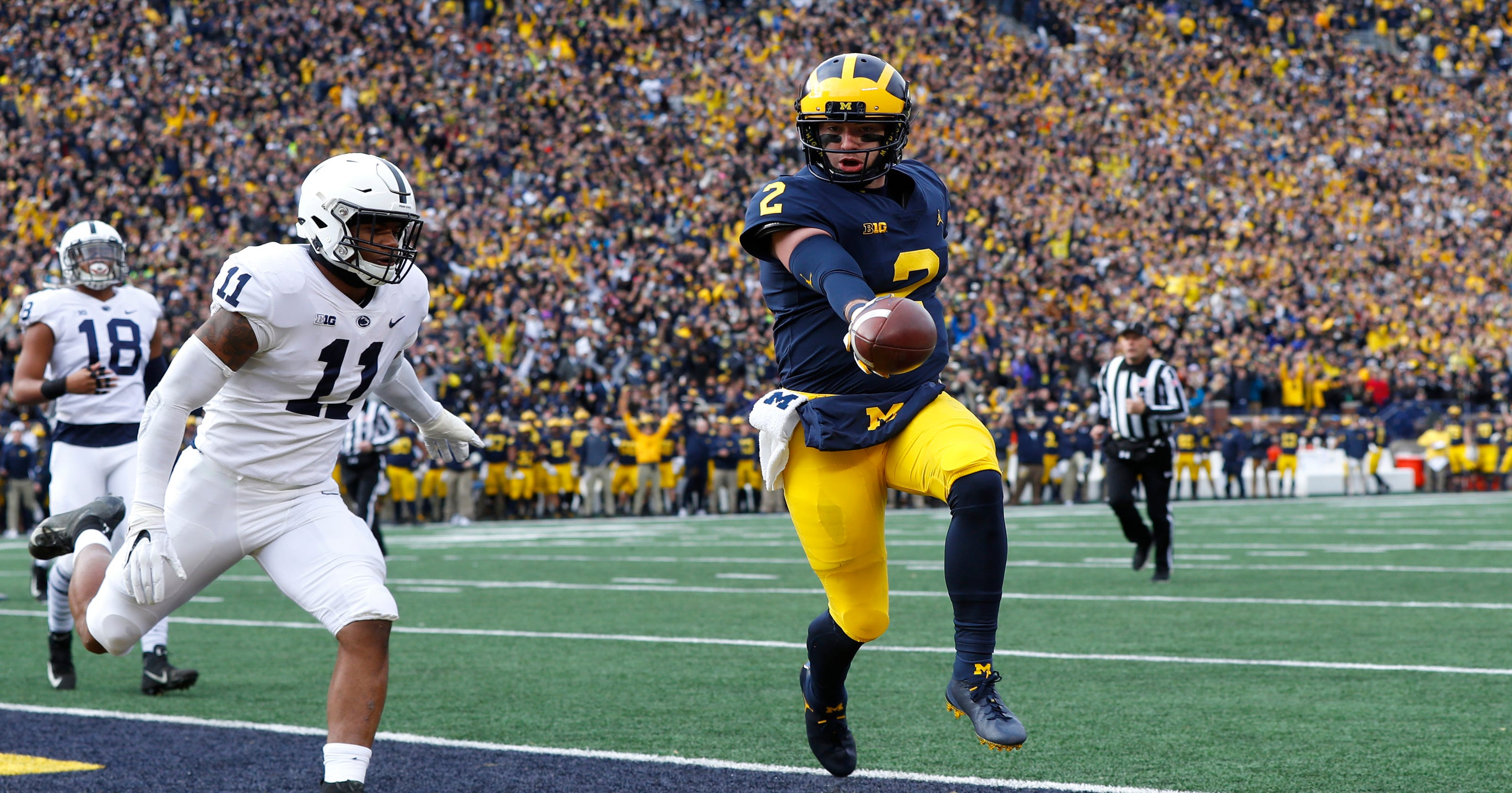 67310619fa0 Michigan football makes post-spring practice top 25 for 2019