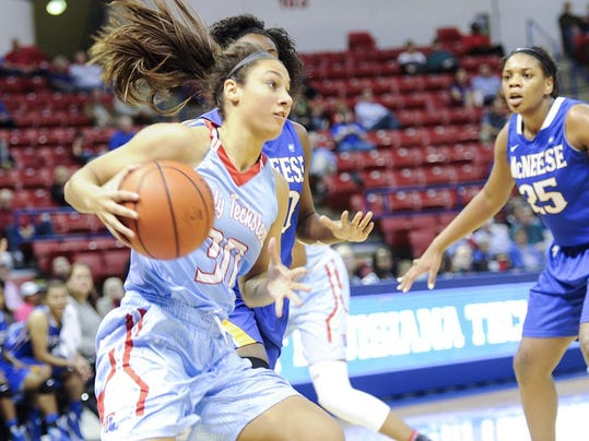 Lady Techster Basketball vs McNeese State