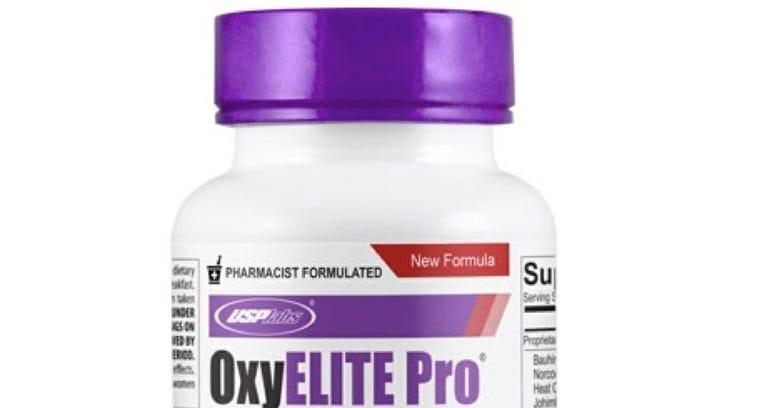 OxyElite Pro bottle