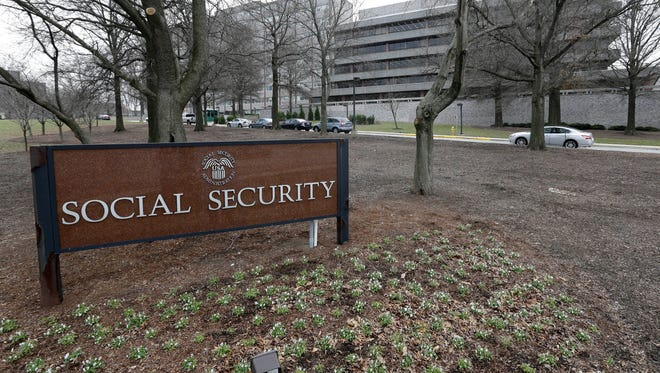 The Social Security Administration's main campus is seen in Woodlawn, Md.
