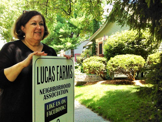 Among several promoters of the Lucas Farms neighborhood