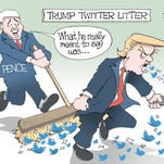 February political cartoons from the USA TODAY Network
