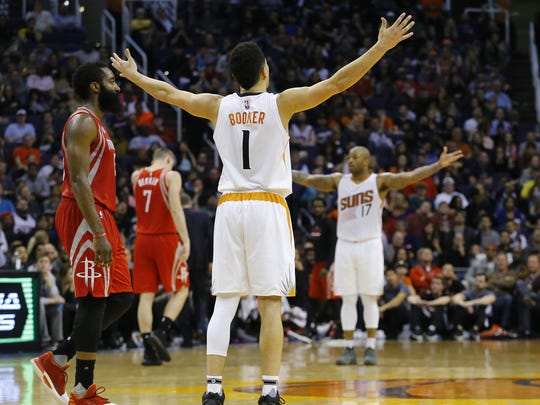 Suns forward Jared Dudley believes Booker is more talented