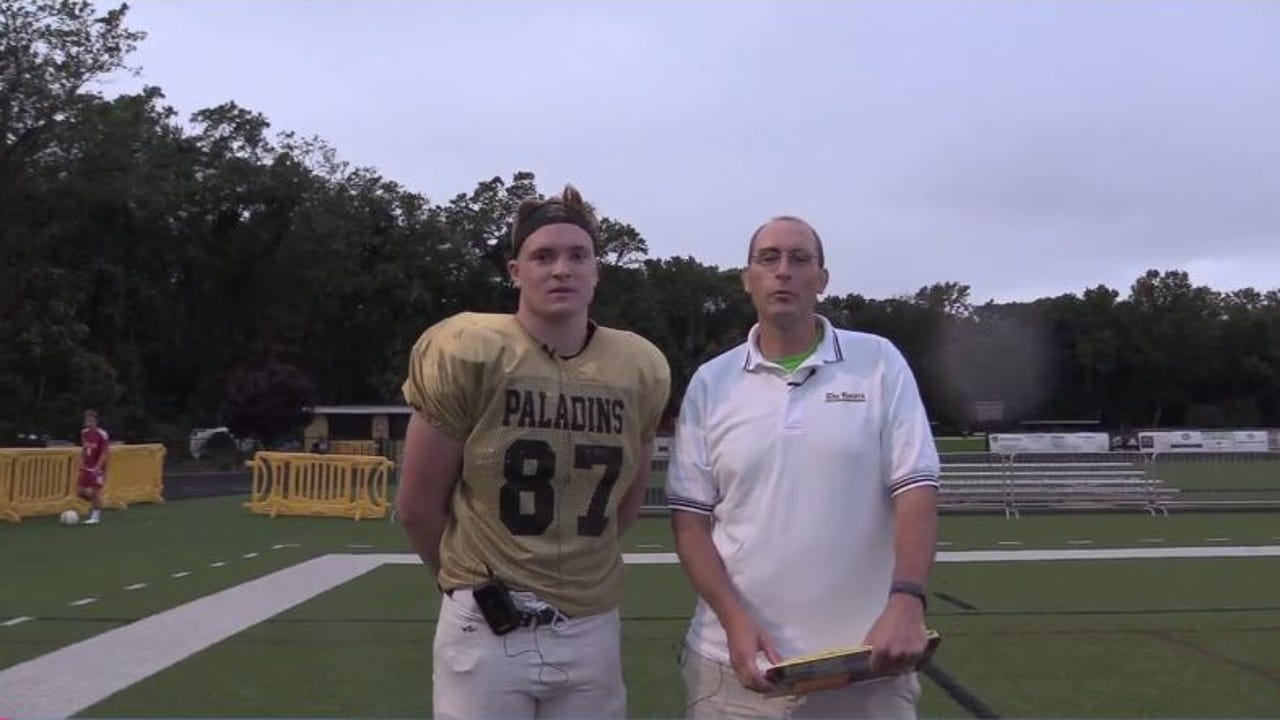 "Video: ""100 Yards"" with Henry Pearson of Paramus Catholic"